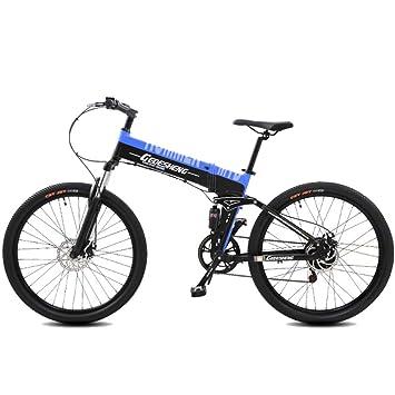 Bicicletas Eléctricas Plegables 240W 48V10AH Bicicleta De Montaña 27 Velocidades Road E-bike Estimulador Eléctrico