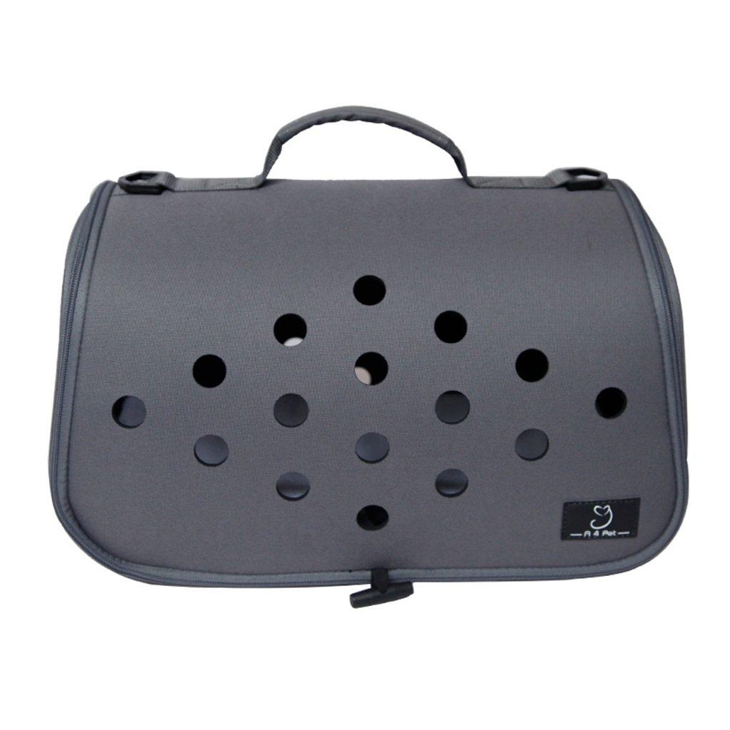 Black 402323cmBackpacks Pet bag portable pet bag dog bath cat bag out cat cage small travel cat 4 kg pet bag car pet bag Carrying Portable Travel Bag For Four Seasons (color   bluee, Size   40  23  23cm)