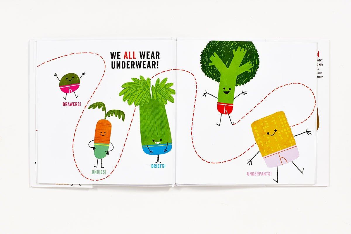 Vegetables in Underwear by Abrams (Image #5)