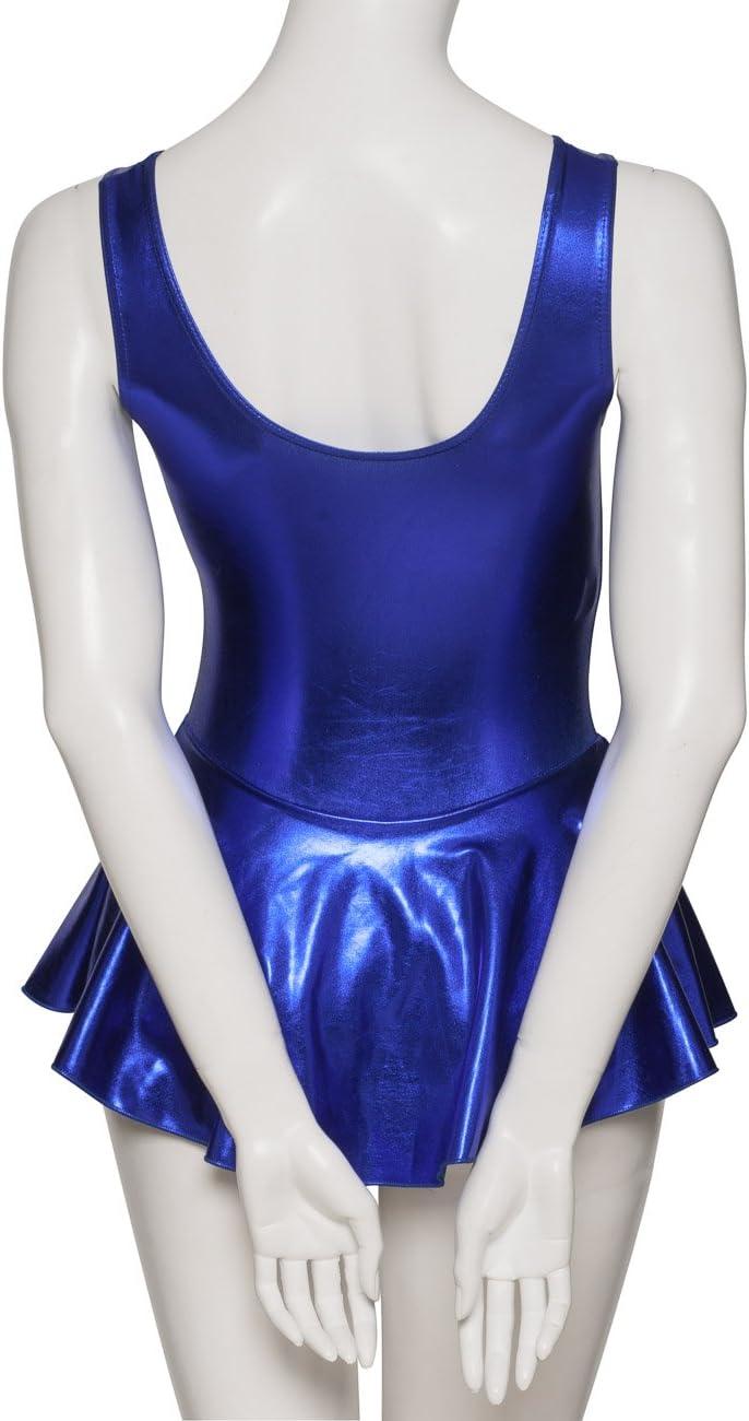KDR005 Girls Lycra Ballet Dance Gym Leotard With Skirt Outfit Sizes By Katz Dancewear