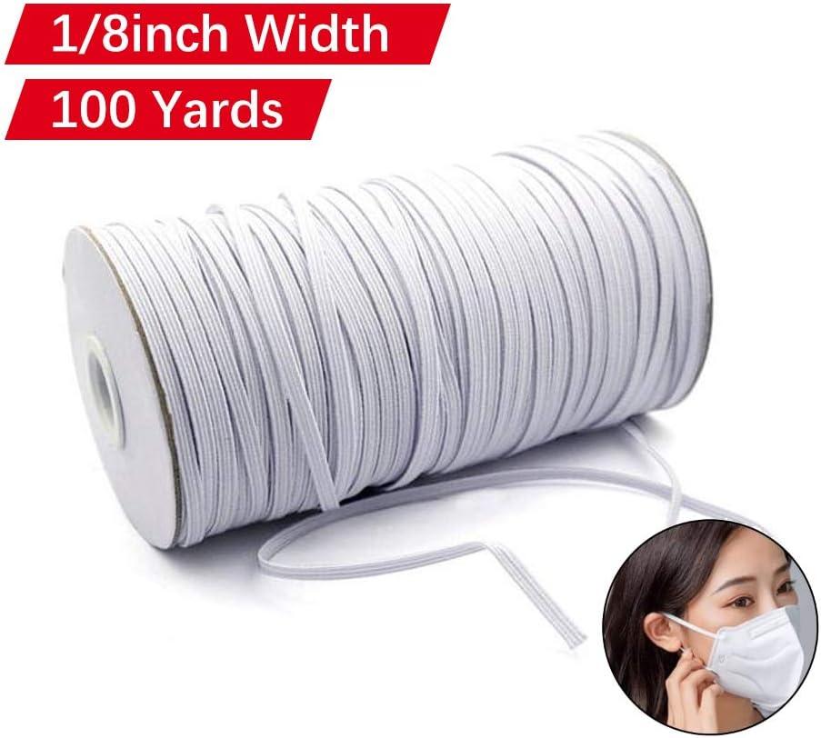 Amazon Com Elastic Mask Strap 100 Yard 1 8 Inch Elastic Band