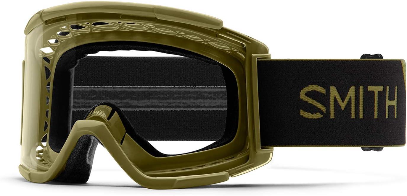 SMITH Optics Squad XL MTB Off Road Goggle (Mystic Green/Clear AF, One Size)
