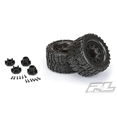 Pro-line Racing Trencher HP 2.8 Belted Tires MTD Raid 6x30 WhlsF R, PRO1016810: Toys & Games
