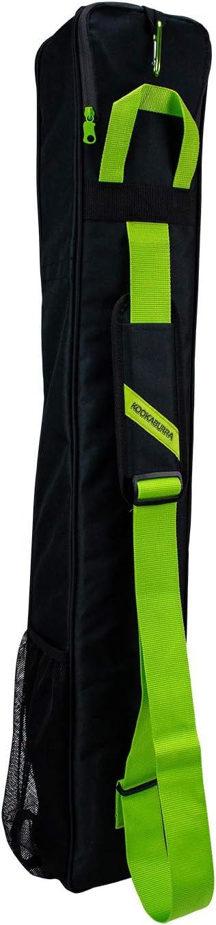 H 100cm x W 15cm x D 12cm KOOKABURRA Unisexs Enigma Hockey Bag Black