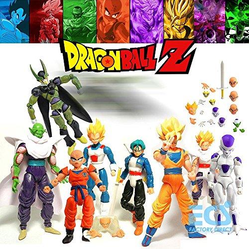 8pcs Hot Action Figure SHF S.H.Figuarts Anime Toys