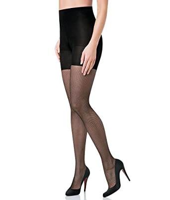 d532ba09305fc SPANX Women's Micro Fishnet Tights at Amazon Women's Clothing store:
