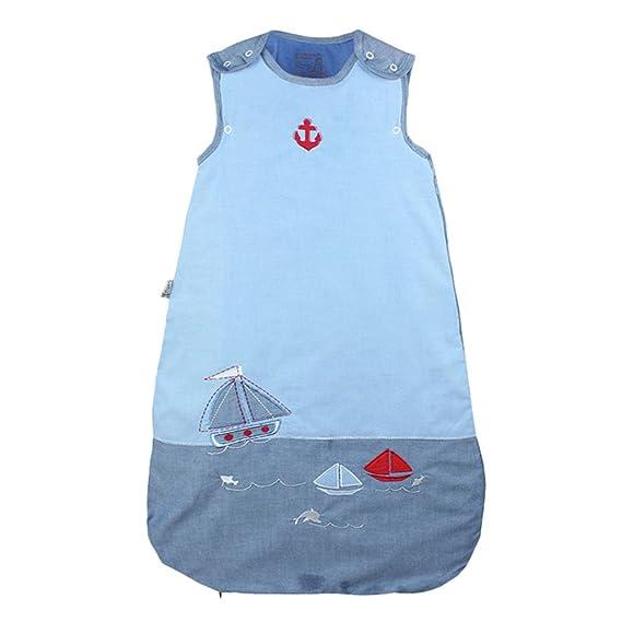 WYT Saco de Dormir Todo el año Sin mangas - Bebé Sacos para dormir,Azul 110cm: Amazon.es: Ropa y accesorios