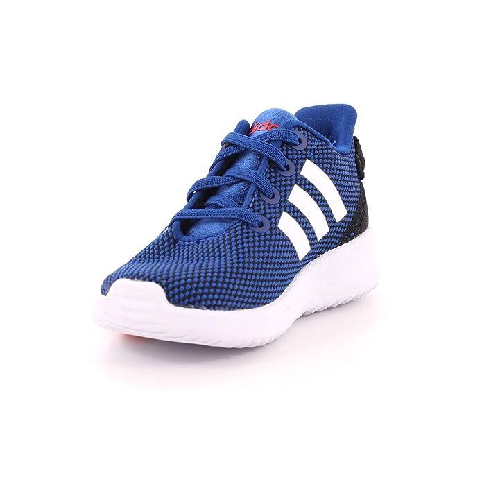 Adidas Racer TR Inf, Zapatillas de Estar por Casa Bebé Unisex, Azul (Azalre/Ftwbla/Roalre 000), 19 EU