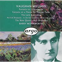 """Vaughan Williams: Fantasia on Greensleeves; Fantasia on a Theme by Thomas Tallis; The Lark Ascending; Norfolk Rhapsody No. 1; In the Fen Country""""; Five Variants of Dives and Lazarus"""