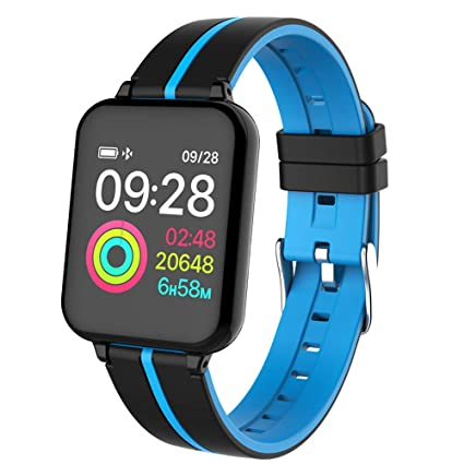 Amazon.com: B57 Smart Watch IP67 Waterproof smartwatch Heart ...