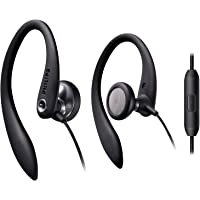 Philips Over The Ear Wired Sport Earbuds with Mic