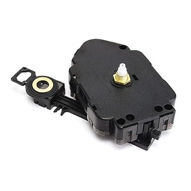 Repuesto de mecanismo de movimiento de péndulo de reloj de cuarzo para bricolaje, color negro: Amazon.es: Industria, empresas y ciencia