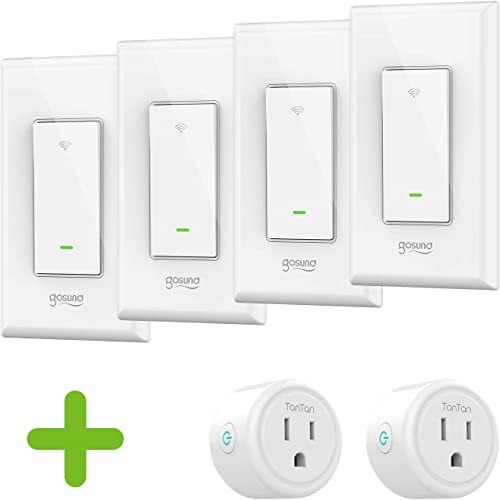 Smart Switch 4 pack and Smart Plug 2 pack Bundle