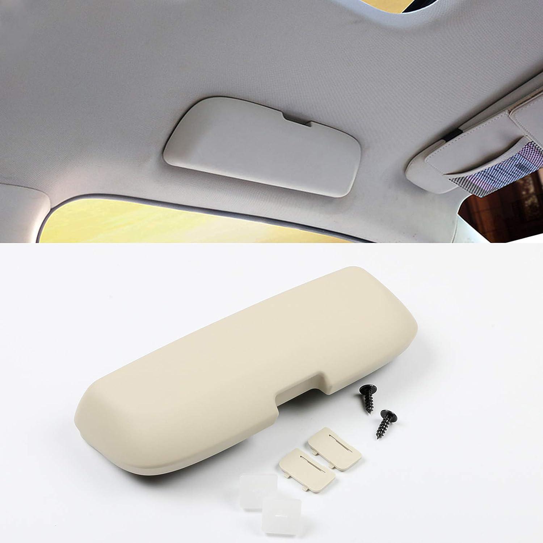 CDEFG pour Lexus ES NX RX UX /Étui /à Lunettes de Voiture ABS Auto Lunettes de Soleil Support Pi/èces de Rechange-S/'Installe sur la poign/ée de Support Avant Noir