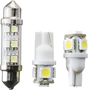 Recon 264165 Set of 2 LED Dome Light Replacement Bulbs for Ford F-150
