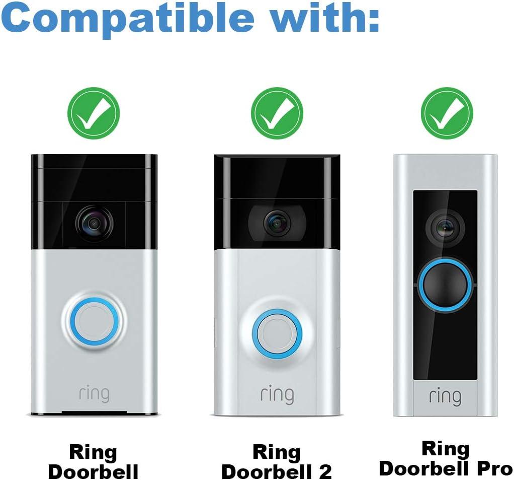 Fit Video Doorbell Ring Doorbell Screwdriver and Screws Set Replacement Screwdriver and Screws Kit for Ring Doorbell Battery Change /& Wifi Password Reset Video Doorbell 2 and Pro.