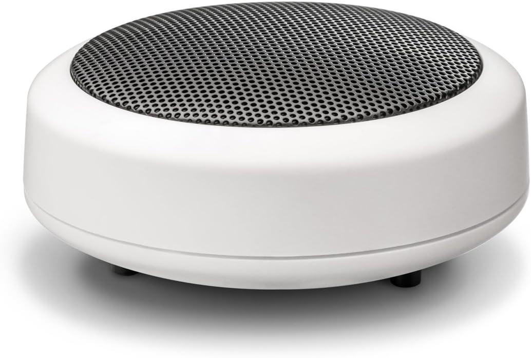 Wavemaster Mobi-2 - Altavoz compacto con Bluetooth para fuentes de audio móviles como Smartphone, Tableta, Reproductor MP3, Portátil, color blanco (66142)