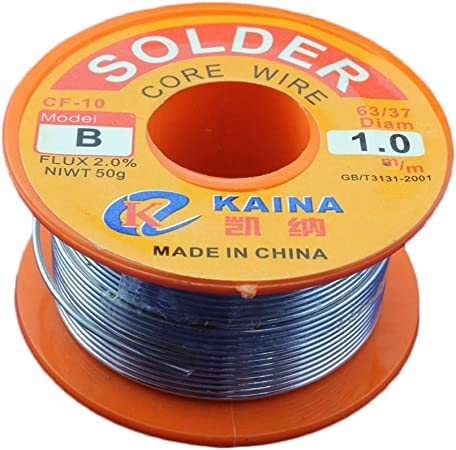 1mm 63//37 Rosin Core Tin Lead Line Solder Soldering Welding Iron Wire Flux Reel