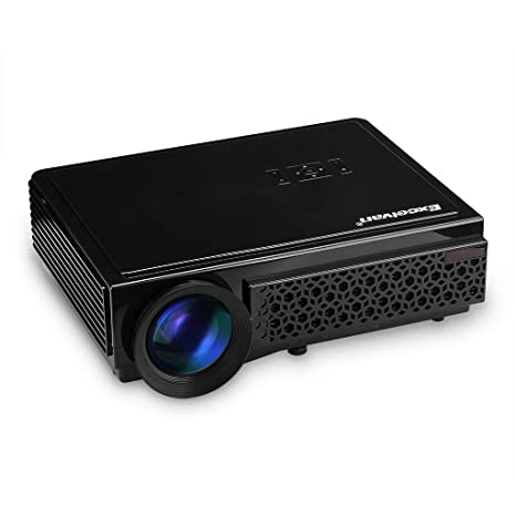 Excelvan LED 96+ - HD Proyector LED 1280P (3000 Lumenes, 1280 x 800P, Proyeccion 60