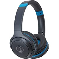 AudioTechnica ATH-S200BT Wireless On-Ear Headphones with Built-In Microphone and Controls