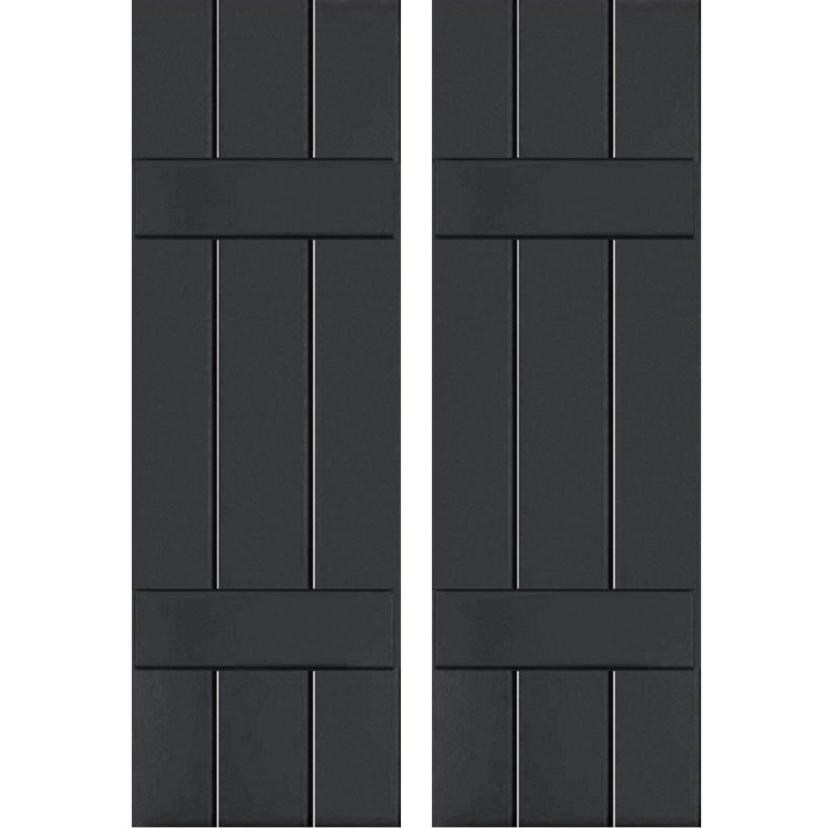 Ekena Millwork CWB12X027BLC Exterior Three Board