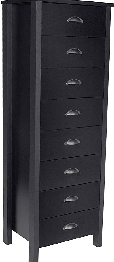 Amazon.com: Hebel Nouvelle 8 Drawer Lingerie Dresser Chest ...