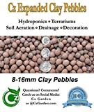 Hydroton Leca Expanded Clay Pebbles Grow Media - Orchids • Hydroponics • Aquaponics • Aquaculture - by Cz Garden Supply