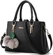 TWOPAGES Top Handle Satchel Handbags Girls Messenger Bag for Women Purse Tote Bag