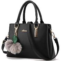 TWOPAGES Top Handle Satchel Handbags Girls Messenger Bag Women Purse Tote Bag