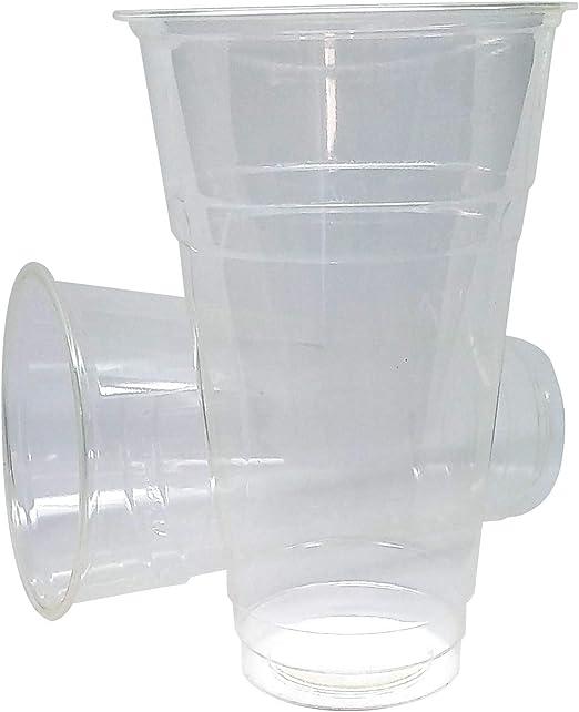 Vaso Biodegradable de PLA 500 ml - Vaso de Maiz Grande - 100 uds ...
