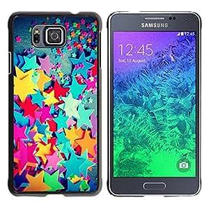 Be Good Phone Accessory // Dura Cáscara cubierta Protectora Caso Carcasa Funda de Protección para Samsung GALAXY ALPHA G850 // Plastic Color Kids Girl'S Girly