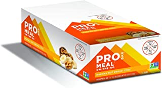 product image for PROBAR - Meal Bar, Banana Nut Bread, Non-GMO, Gluten-Free, Healthy, Plant-Based Whole Food Ingredients, Natural Energy, 3 Ounce (Pack of 12)
