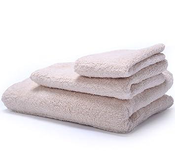 Hotel calidad 100% natural algodón juego de toallas 6 piezas (2 toallas de ducha