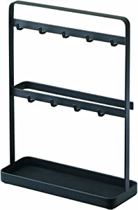 YAMAZAKI home Smart Key Rack – Modern Hook Organizer Stand