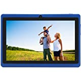 JINYJIA E-SHOP 7 Inch Android Google Tablet PC 4.2.2 8GB 512MB DDR3 A23 Dual Core Camera Capacitive Screen 1.5GHz 3G WIFI Blue