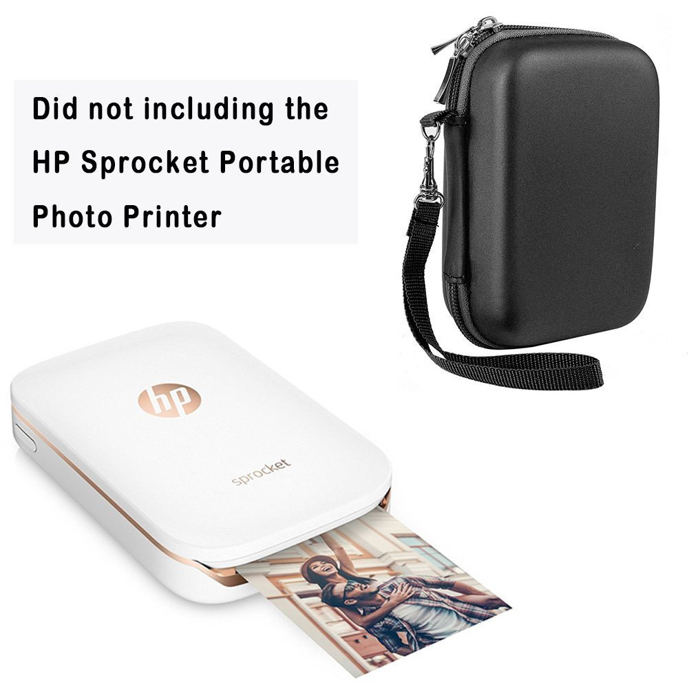 Katia Sprocket Portable Photo Printer Kit de accesorios para HP X7N07A, Polaroid ZIP Mobile Printer / Print Fotos de redes sociales con funda rígida, ...