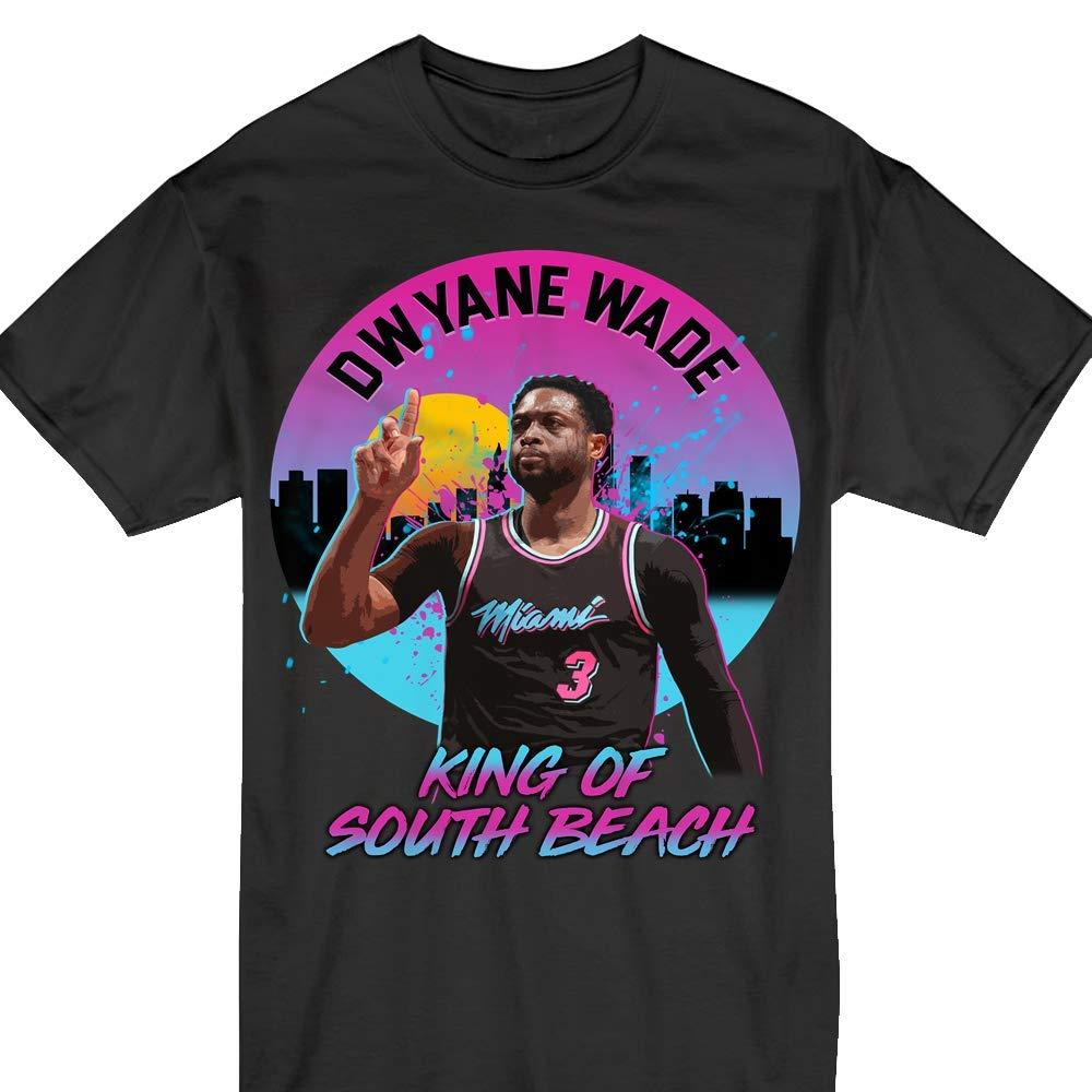 Dwade Miami King Of South Beach Basketball 3 Tshirt