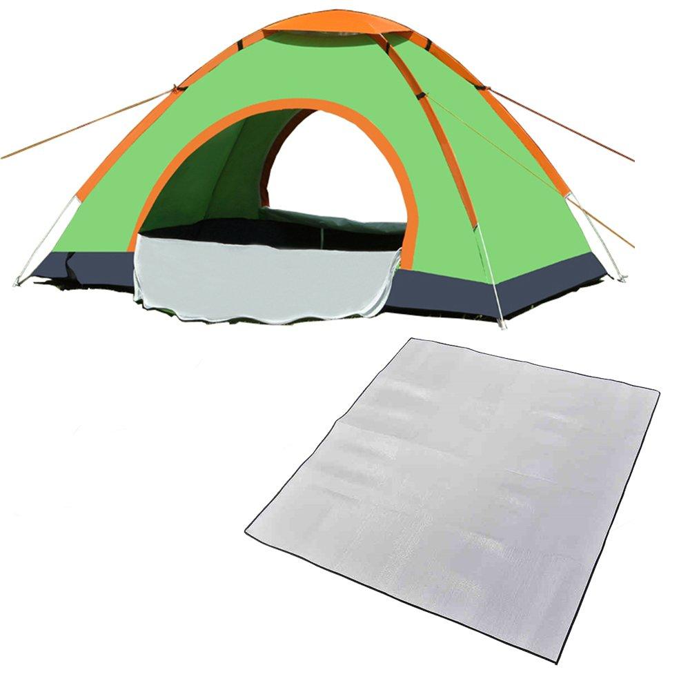 Automatisches Zelt 2 Outdoor-Zelt 3-4 Personen Strand Zelt UV-Schutz Zelt Camping Zelt