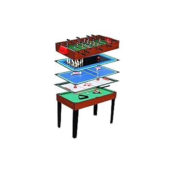 Auchan Tavoli Da Giardino.Auchan Calcetto Con Giochi 5 In 1 Amazon It Giochi E Giocattoli