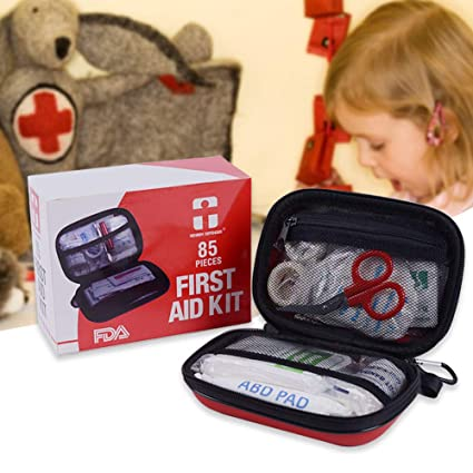 Amazon com: Camping First Aid Kit, 85 Pieces Emergency Survival Kit