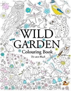 Wild Garden Colouring Book