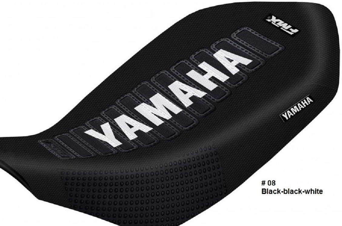 ATV Quad Gripper Seat Cover Blue Black for Yamaha Raptor 700 YFM700R 2006-2011