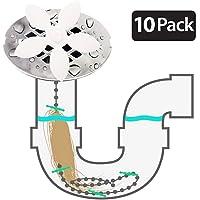 FIBOUND ducha drenaje pelo Catcher(paquete de 10 unidades)–