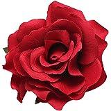 San Bodhi Femme Sweet Rose Blossom Fleur pour mariage Pince à cheveux Epingle Broche