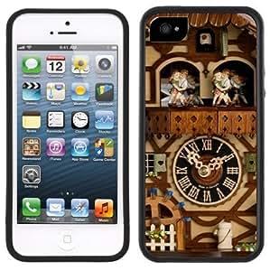 Cuckoo Clock Handmade iPhone 5C Black Case