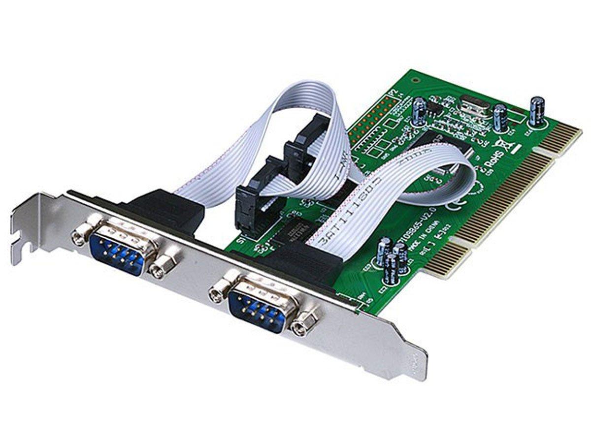 Monoprice NetMos 2-Port Dual Serial Port PCI 32-Bit Card (100187)