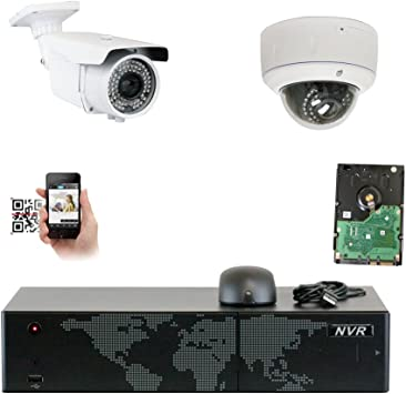 H.256 PoE IP Network 5.0Megapixel External Adjust 2.8-12mm CCTV Security Camera