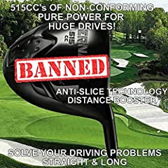 #1 DISTANCE CUSTOM OFFSET GOLF DRIVER Our Juggernaut 515cc Offset Driver is the ULTIMATE SLICE BUSTER. Utilizes an offset hosel and closed face to help square the face at impact. BREAKIN' THE LAW - 515cc's OF TITANIC POWER WITH AN ILLEGAL COR...