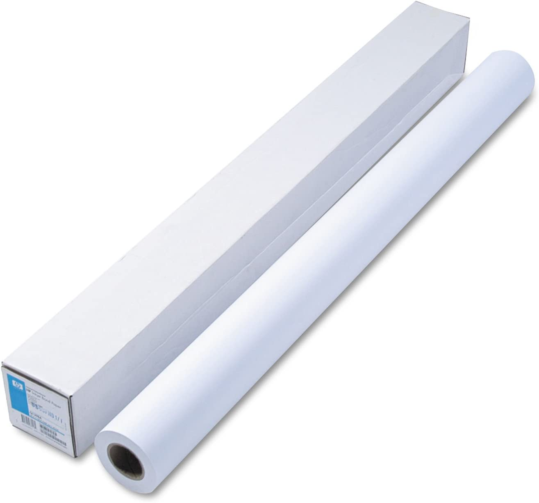 HP Q1398A Designjet Large Format Universal Bond, 21 lbs, 42-Inch x 150 ft, White