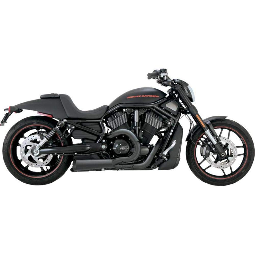 Vance & Hines Competition Series 2 into 1 Exhaust Matte Black 75-117-9